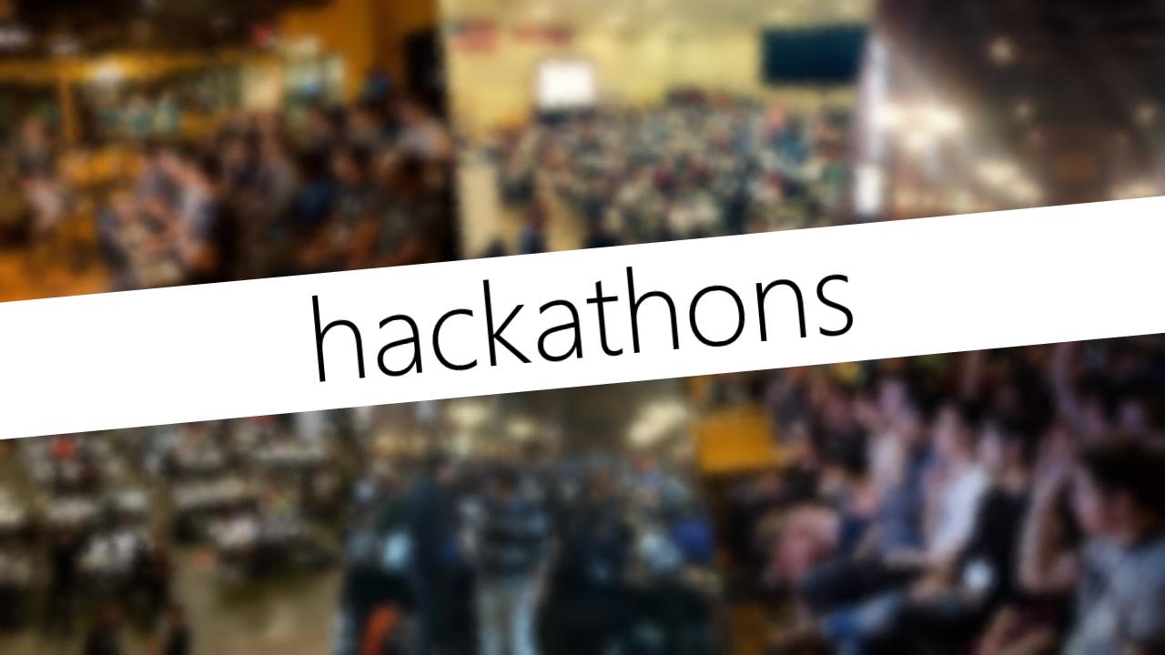 My Ideal Hackathon